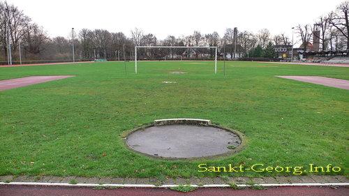 Hammer Park Stadion in Hamburg