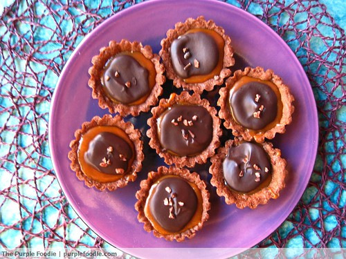 Chocolate Caramel Tartlets
