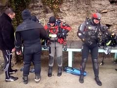 Salon d'habillage (PhilR66) Tags: eric dive diving formation marc scubadiving laurent plongée abyss lagraule étanche abyssplongée