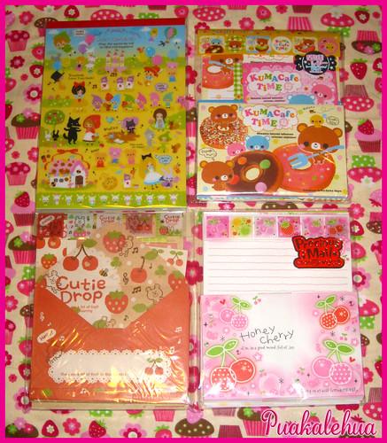 Kawaii Ya Goodies~ Letter sets