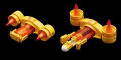 Suntron Transport VTOL (pasukaru76) Tags: lego space transport vtol moc sigma105mm microscale suntron