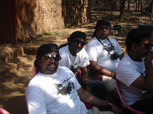 Myself, Charan and Aditya