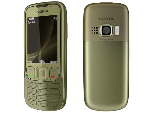 Nokia 6303i Classic green