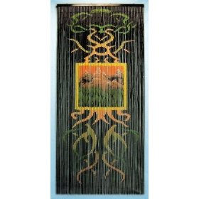beaded bamboo curtains - Walmart.com