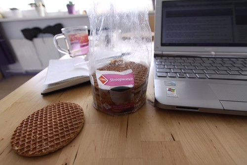 Stroopwafels - a sweet, Dutch biscuit...