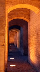 Arches on Khaju Bridge (Susan SRS) Tags: iran esfahan khajubridge