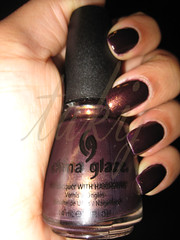 China Glaze Side-Saddle