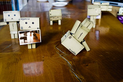 43-365 Alberts Adventures with smoke and mirrors (kallope) Tags: 365 opticalillusion danbo project365 danboard