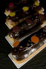 Éclair au Chcolat Grand Cru, Pâtisserie Sadaharu Aoki Paris, Salon du Chocolat Tokyo 2010, Shinjuku Isetan