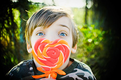 Re-edit (sarahspins) Tags: seth candy valentine lollipop custombokehhearts