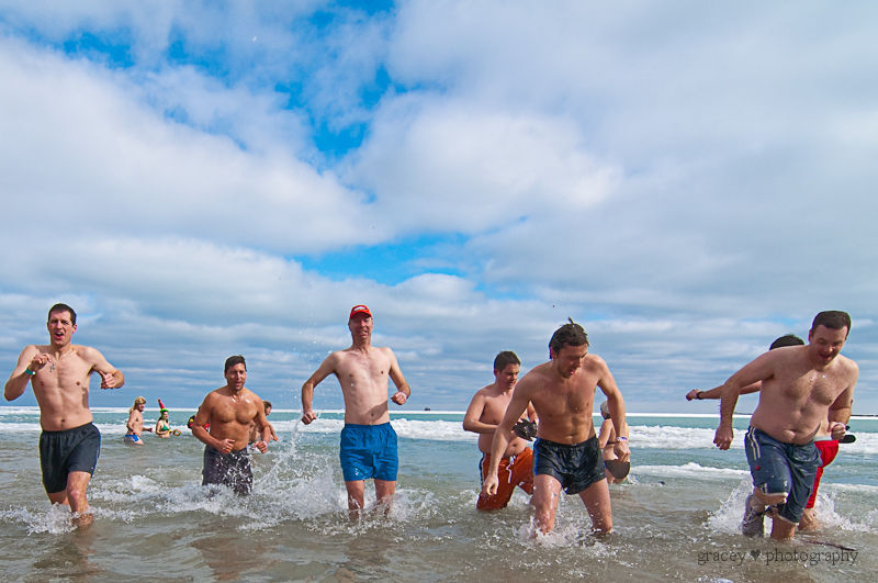 Polar Bear Plunge:  A Celebration of Shrinkage