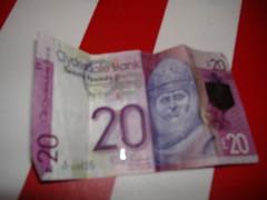 Scottish money(Clydesdale bank) (matthewgrocott) Tags: money