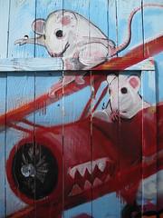 Unexpected revenge (dschweisguth) Tags: sanfrancisco mural foundinsf
