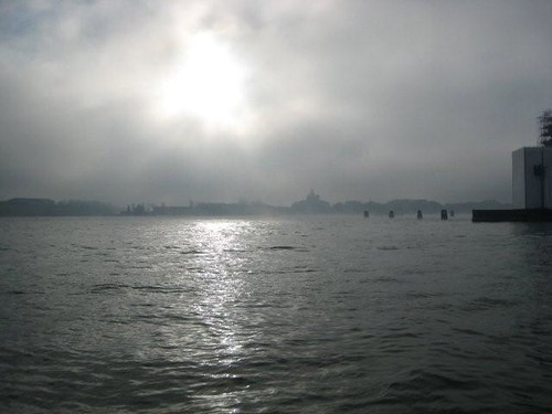 Sun and fog in Venice