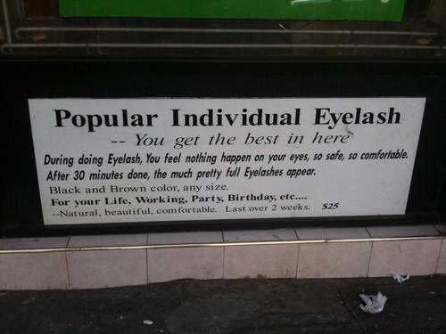 Popular Individual Eyelash