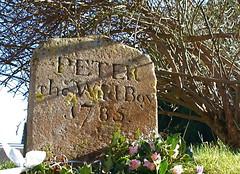 Wild boy (andvic) Tags: gravestone 1785 hertfordshire northchurch digitalcameraclub project365 peterthewildboy