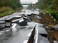 asfalto terremoto Chile