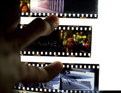 so many films.... (shanghaisoundbites) Tags: leica home digital lens tv mess dof films 5d checking 135mm arrange 095