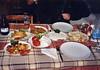 Dinner, Golden Pension, Gelemiş, Patara, Turkey