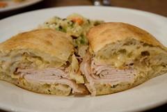 brick - turkey sandwich