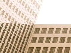 Balanciertes Management (Postsumptio) Tags: sky house building window wall architecture germany landscape europe frankfurt contemporary ptlens eschborn cornerofahouse
