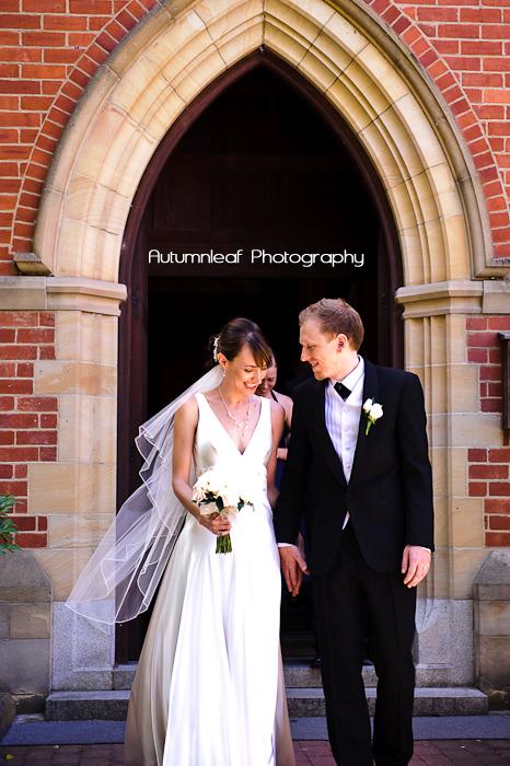 Frances & Bradley's Wedding - Just Married