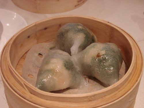 Shrimp and Spinach Dumplings from Golden Unicorn