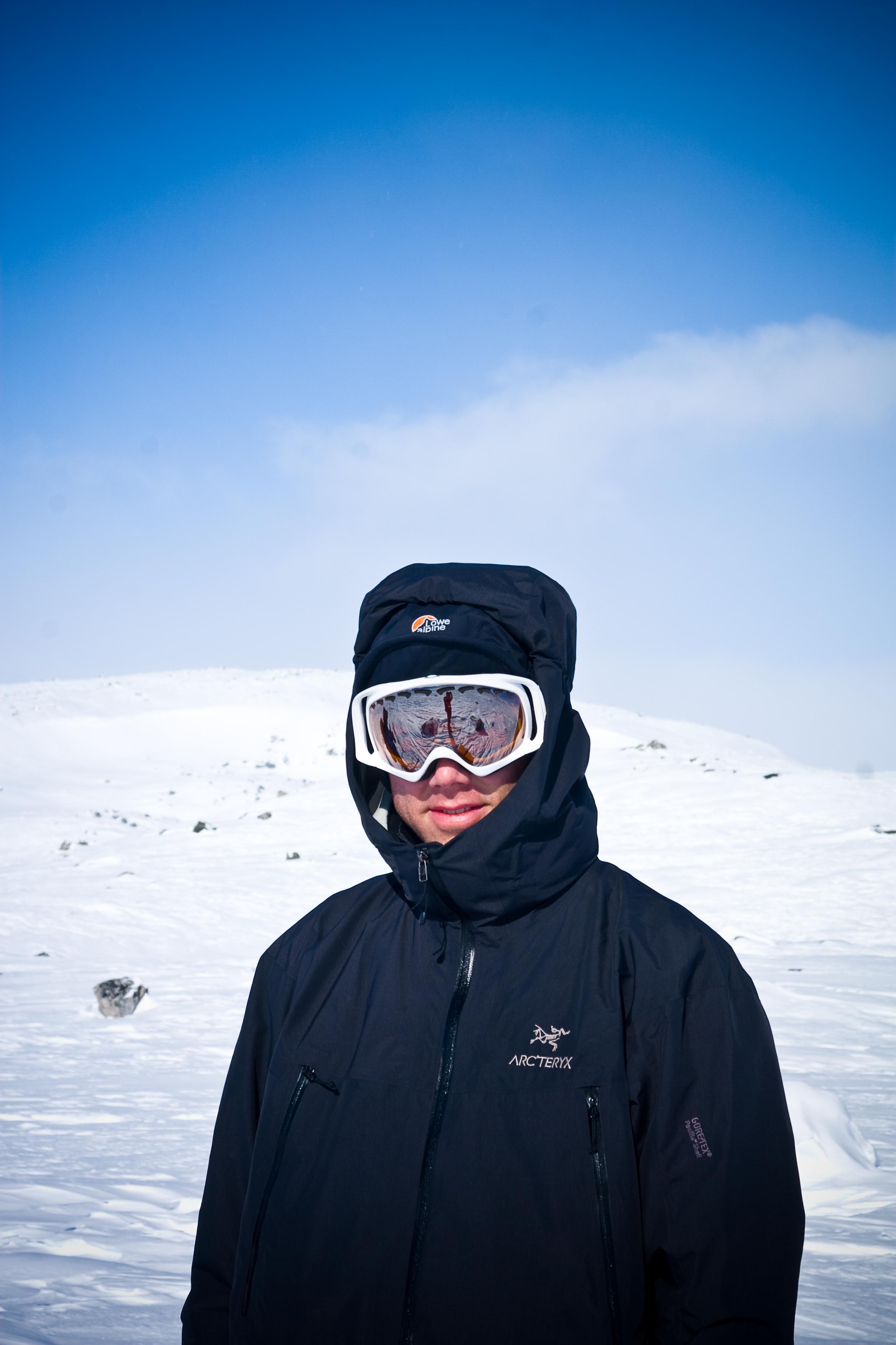 Martin på Hardangervidda