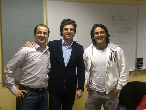 Foto insieme a Matteo Fabiano...il nostro mentor