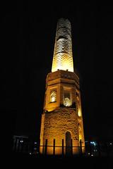 n (lachicaphoto) Tags: nightphotography nikon citadel minaret iraq kurdistan d700f28