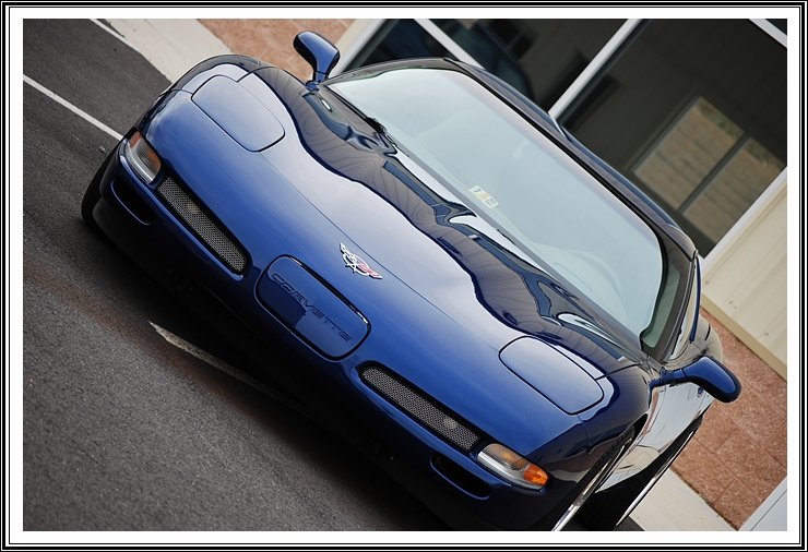 2004 Commemorative Corvette in Lemans Blue Metallic