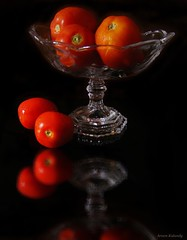 "Featured in ""Smart Photography"" (aroon_kalandy) Tags: light red stilllife india glass beauty reflections creativity adobephotoshop artistic crystal gorgeous awesome tomatoes kerala greatshot impressions naturemorte calicut beautifulshot anawesomeshot malayalikkoottam sonyh50 aroonkalandy theoriginalgoldseal"