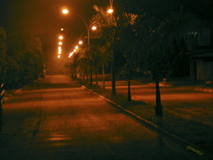 Rua Solitria <<<>>> ( Lonely street ) (Opimentas) Tags: street sunset sun brasil angel night lights town photos tag go abril tags prdosol april bento rua abs buriti 2010 gois talita energiapositiva onofrepimenta opimentas bhto blinkagain