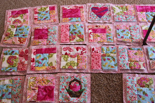 Unassembled, yet Quilted