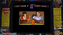 Final Fight: Double Impact (cabinet setting)