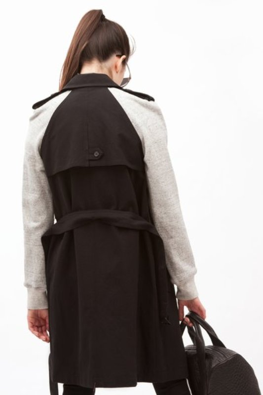 Alexander Wang sweat trench 6
