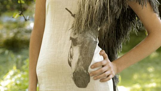 mika+organic+horse+mane+dress