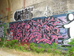 AMUSE / CHAN (Same $hit Different Day) Tags: graffiti bay san francisco chan area emt aq amuse ckt