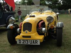 Lomax 223 (kenjonbro) Tags: uk yellow kent tricycle 1987 2cv trike lomax 223 citreon detling 602cc fujihs10 kentkitcarshow2011