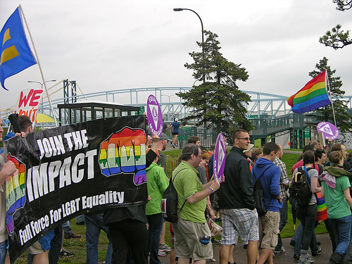 full force fro LGBT equality