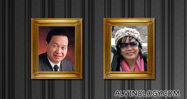 Mr and Mrs Tan Kin Lian