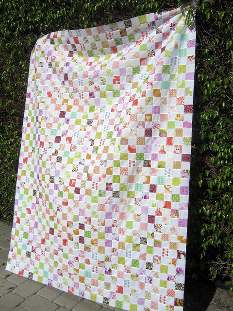 Postage Stamp Quilt Along - top