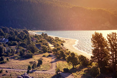 *Summer Sadness* (zombie brain for tea) Tags: costa lake landscape lago paisaje shore bariloche