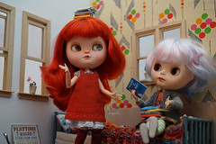 Blythe a Day 09 February 2017 - Lady in Red
