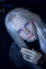 just picture my guardian (lukoshka) Tags: dollshe dollshecraft saint dolls foto bjd abjd