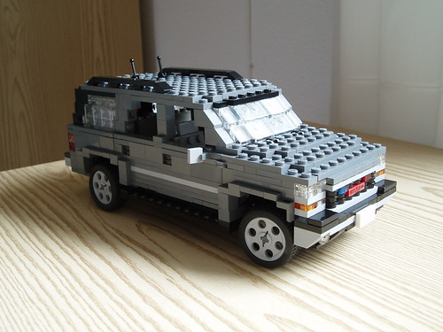 Moc Gmc Yukon And Pink Cadillac Lego Technic And Model