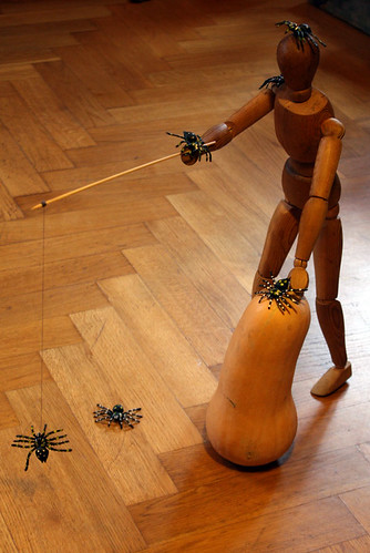 Usch vilka äckliga spindlar