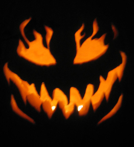 Scary Smile Pumpkin