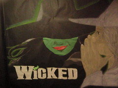 """Wicked"" wall decor"