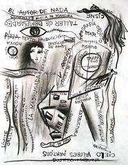 Haba all una hoja en blanco digna de semilla transparente (Felipe Smides) Tags: en hoja blanco de drawing una all draw dibujos dibujo historia dolor violencia memoria transparente tipografa huella indiferencia